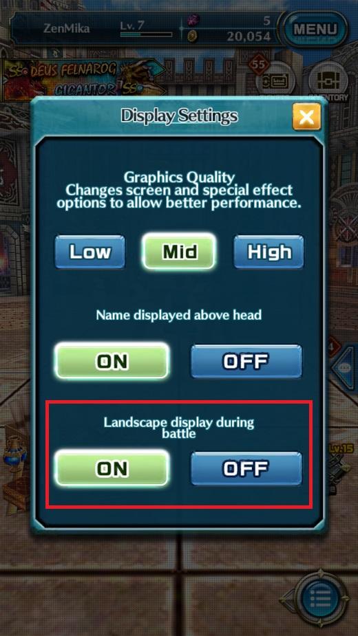 Dragon Project : Săn Rồng Mobile – Hướng dẫn xoay ngang màn hình 5