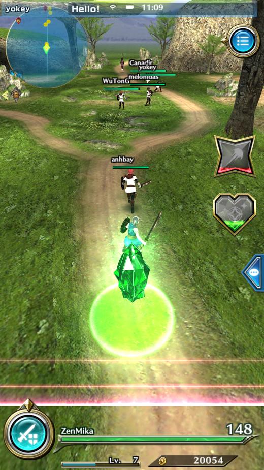 Dragon Project : Săn Rồng Mobile – Hướng dẫn xoay ngang màn hình 6
