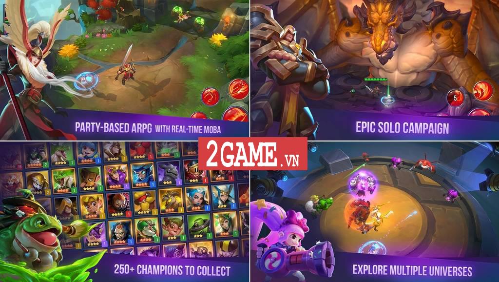Dungeon Hunter Champions – Game nhập vai kết hợp MOBA đến từ ông lớn Gameloft 1