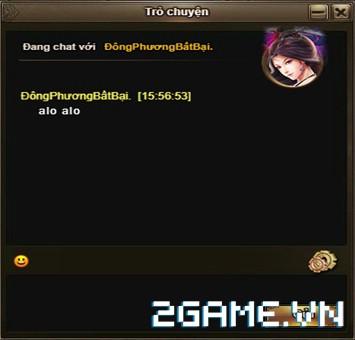 Cửu Âm Truyền Kỳ - Hệ thống Chat 0