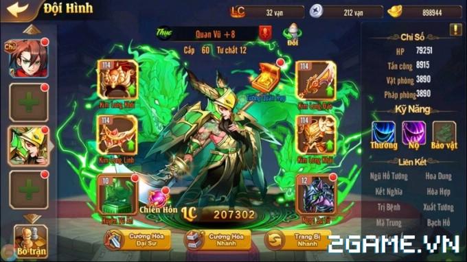 OMG 3Q VNG - Vì sao được xem là tinh hoa của game đấu tướng chiến thuật? 3