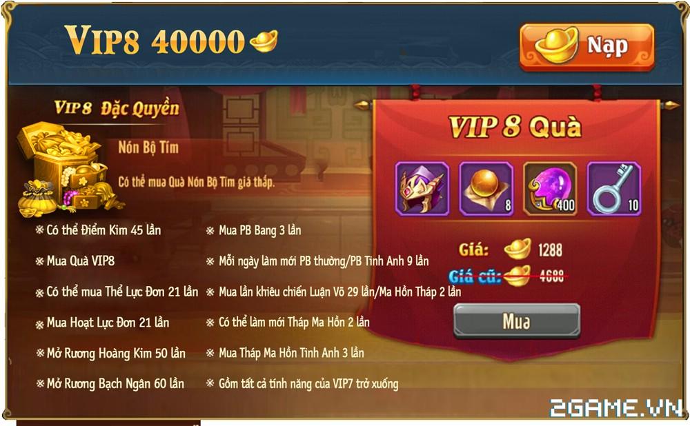 OMG 3Q VNG - Phúc lợi VIP 8