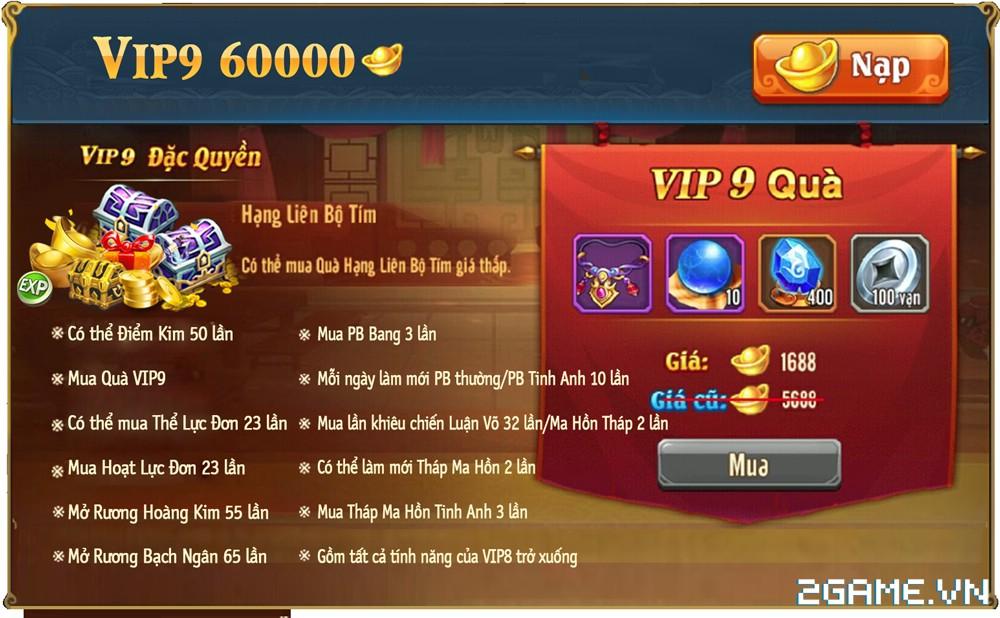 OMG 3Q VNG - Phúc lợi VIP 9