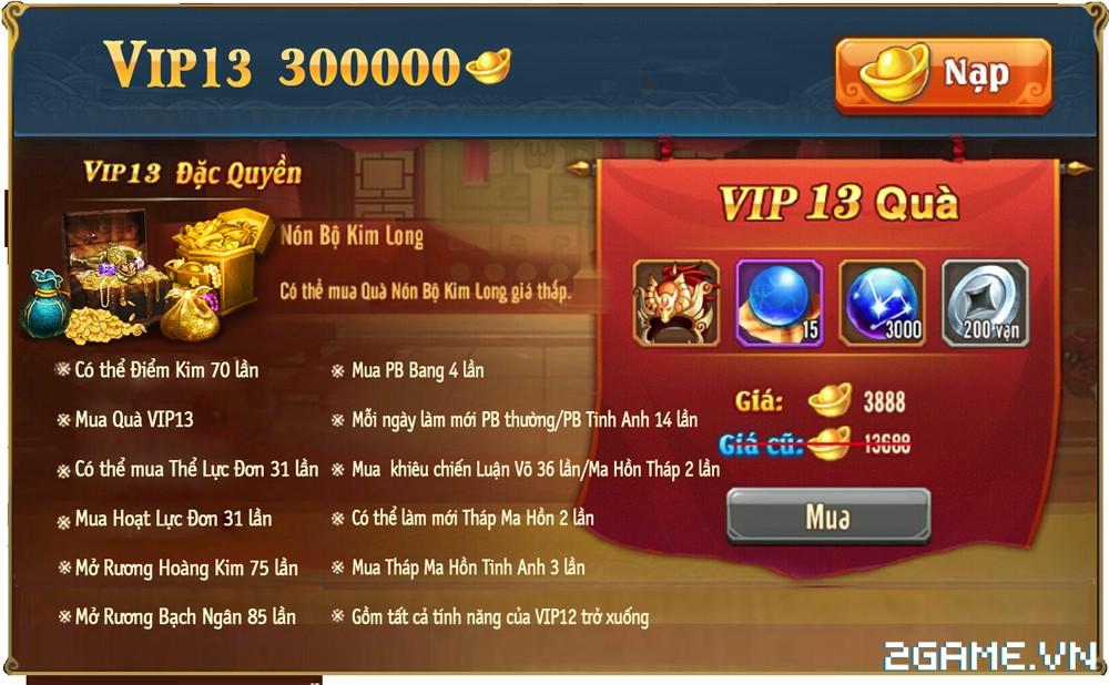 OMG 3Q VNG - Phúc lợi VIP 12