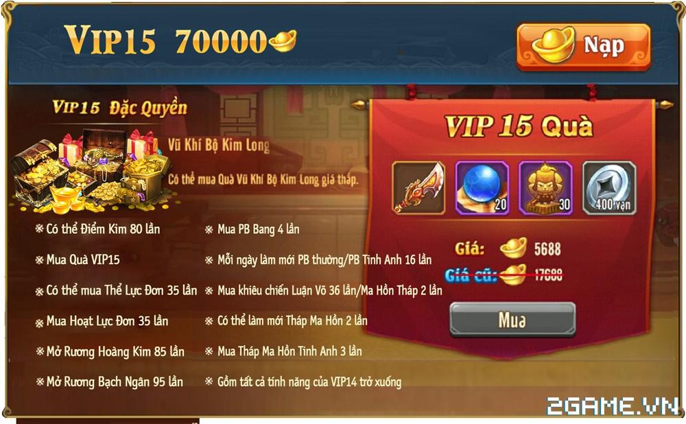 OMG 3Q VNG - Phúc lợi VIP 14