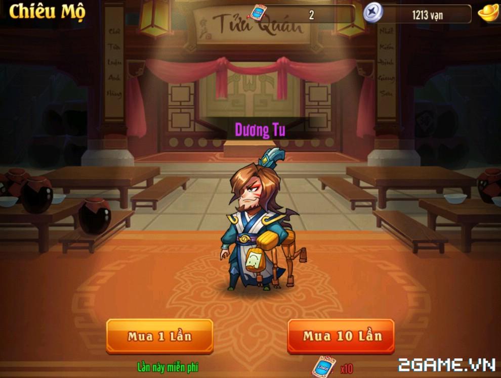 OMG 3Q VNG - Chiêu mộ võ tướng 0