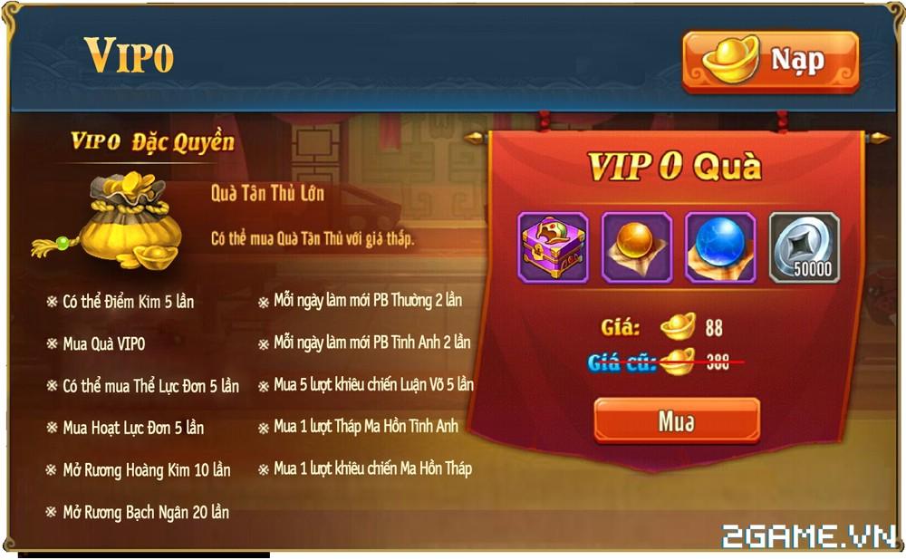 OMG 3Q VNG - Phúc lợi VIP 0