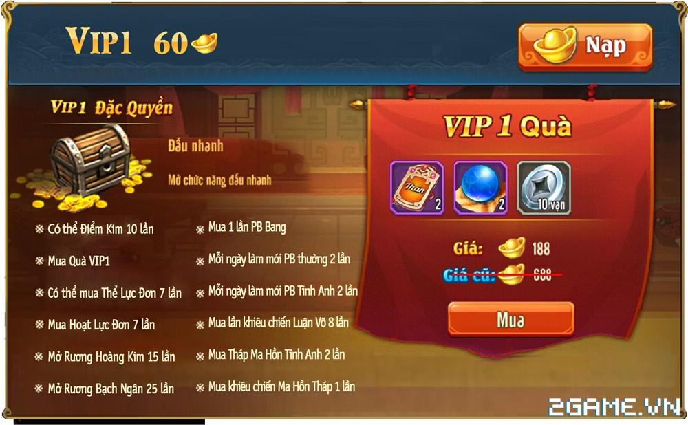 OMG 3Q VNG - Phúc lợi VIP 1