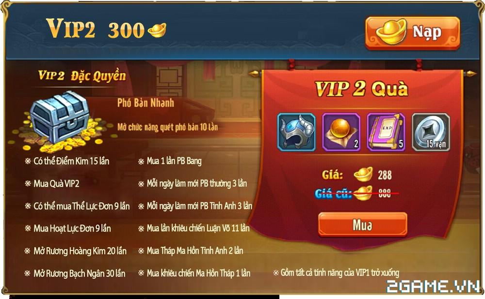 OMG 3Q VNG - Phúc lợi VIP 2