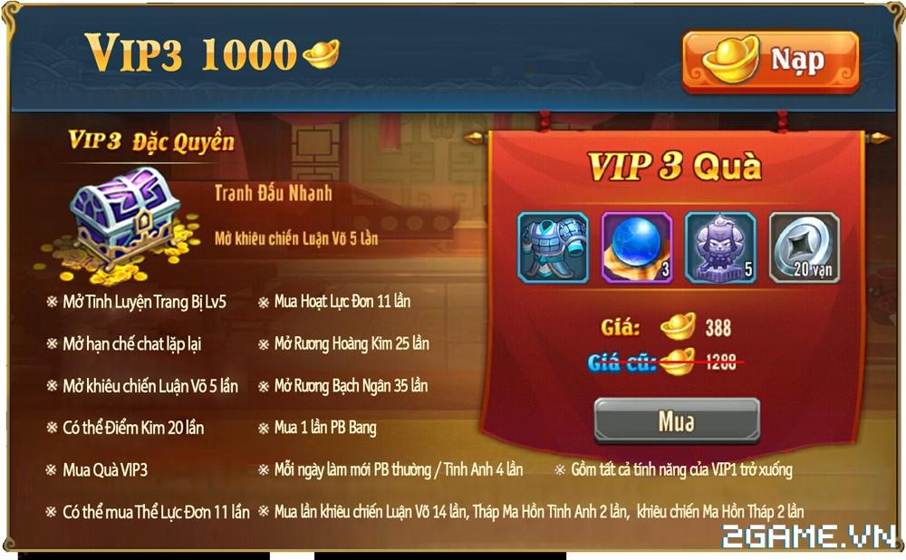OMG 3Q VNG - Phúc lợi VIP 3