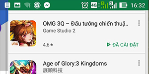 OMG 3Q VNG – Cài đặt bản Android