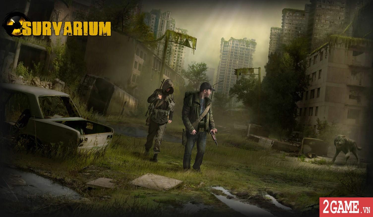 Muốn biết thế giới hậu tận thế ra sao mời bạn bước vào game online Survarium 0