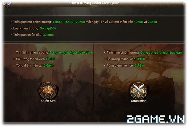 Cửu Âm Truyền Kỳ - Chiến trường Nhạn Môn Quan 1