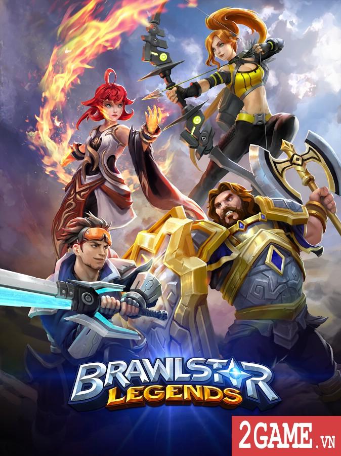 Brawlstar Legends – Game MOBA phong cách 2 đấu 2 kết hợp chiến thuật thả quân đầy hay ho 0