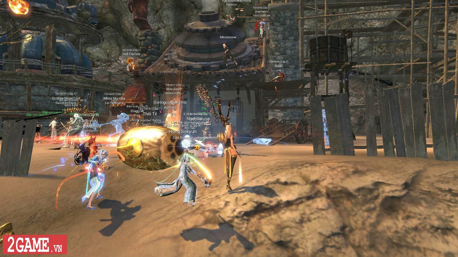 Lần đầu tôi chơi Blade and Soul: Game đẹp, điều khiển phức tạp, đánh đấm sướng tay thật! 3