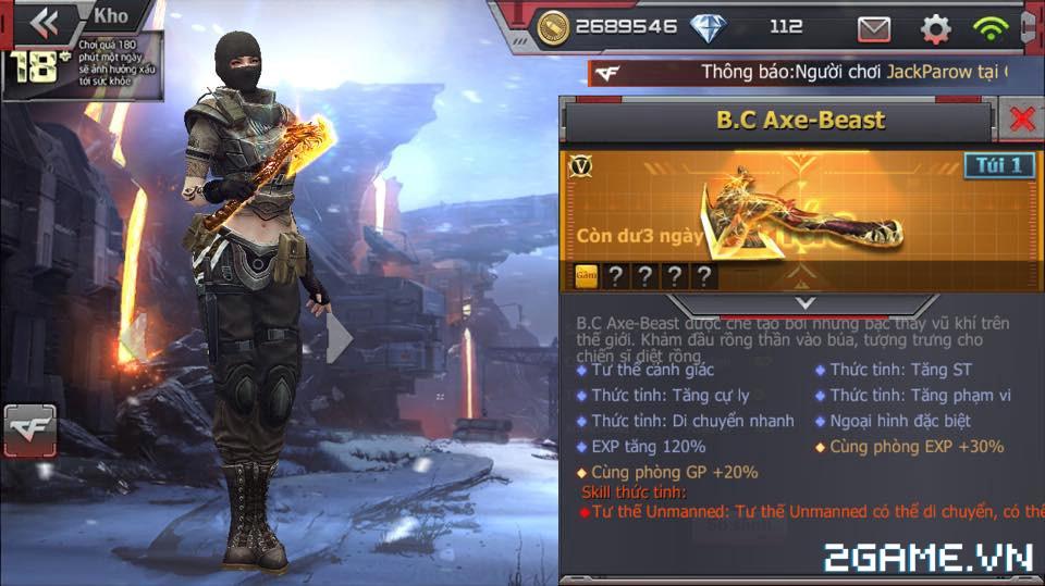 Crossfire Legends - Happy Day: Tiêu gem ngay, nhận quà hay 1