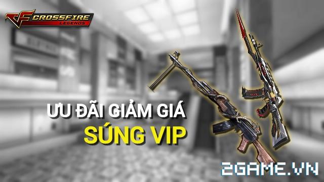 Crossfire Legends - Ưu đãi bất ngờ: Giảm giá súng VIP RPK-Inferno Dragon & AN94-Smilodon 0