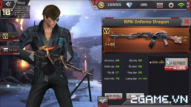 Crossfire Legends - Ưu đãi bất ngờ: Giảm giá súng VIP RPK-Inferno Dragon & AN94-Smilodon 1