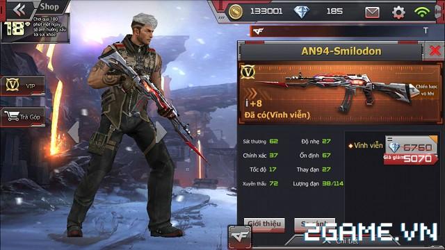 Crossfire Legends - Ưu đãi bất ngờ: Giảm giá súng VIP RPK-Inferno Dragon & AN94-Smilodon 2
