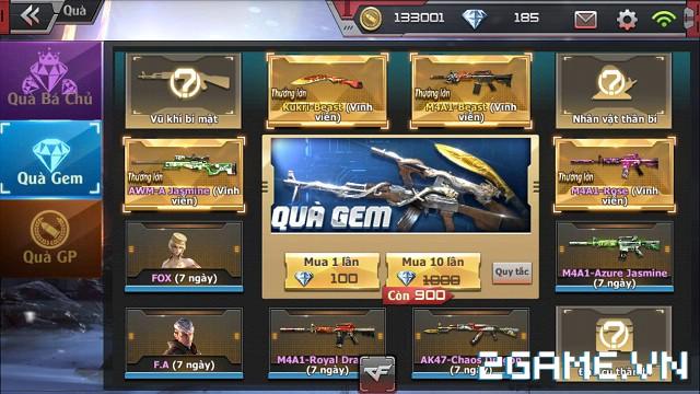 Crossfire Legends - Vòng quay gem & GP thay đổi vật phẩm mới 0