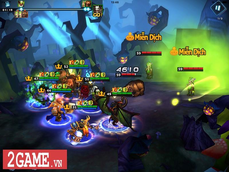Doto Mobile - Tựa game nhập vai chiến thuật hứa hẹn hồi sinh tượng đài Warcraft 3 tại Việt Nam 1