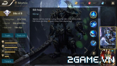 Liên Quân Mobile - Những lý do khiên cho Mortos sở hữu tỷ lệ người chơi cực cao 2