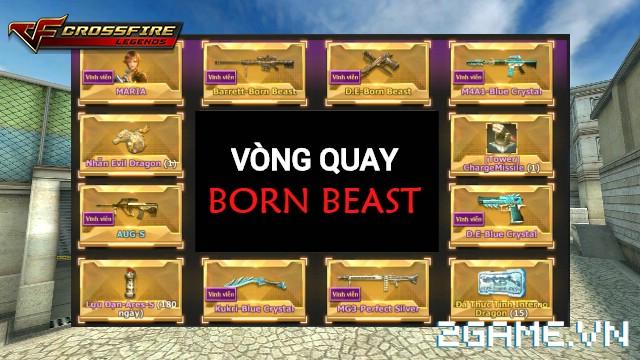 Crossfire Legends - Khai trương vòng quay Bá Chủ 3: Thời đại Born Beast 0
