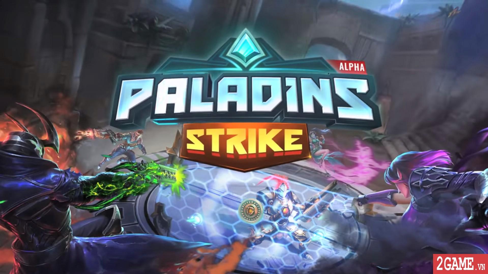 Paladins Strike – Phiên bản MOBA của tượng đài game bắn súng thế hệ mới trên PC đã lộ diện 1