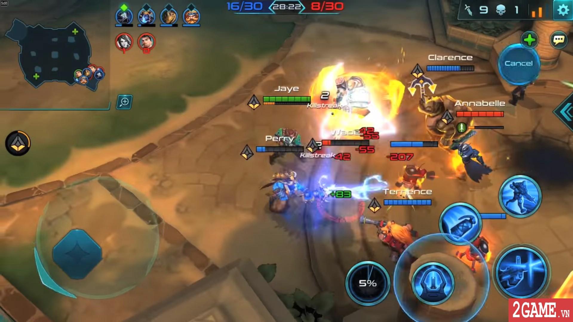 Paladins Strike – Phiên bản MOBA của tượng đài game bắn súng thế hệ mới trên PC đã lộ diện 3