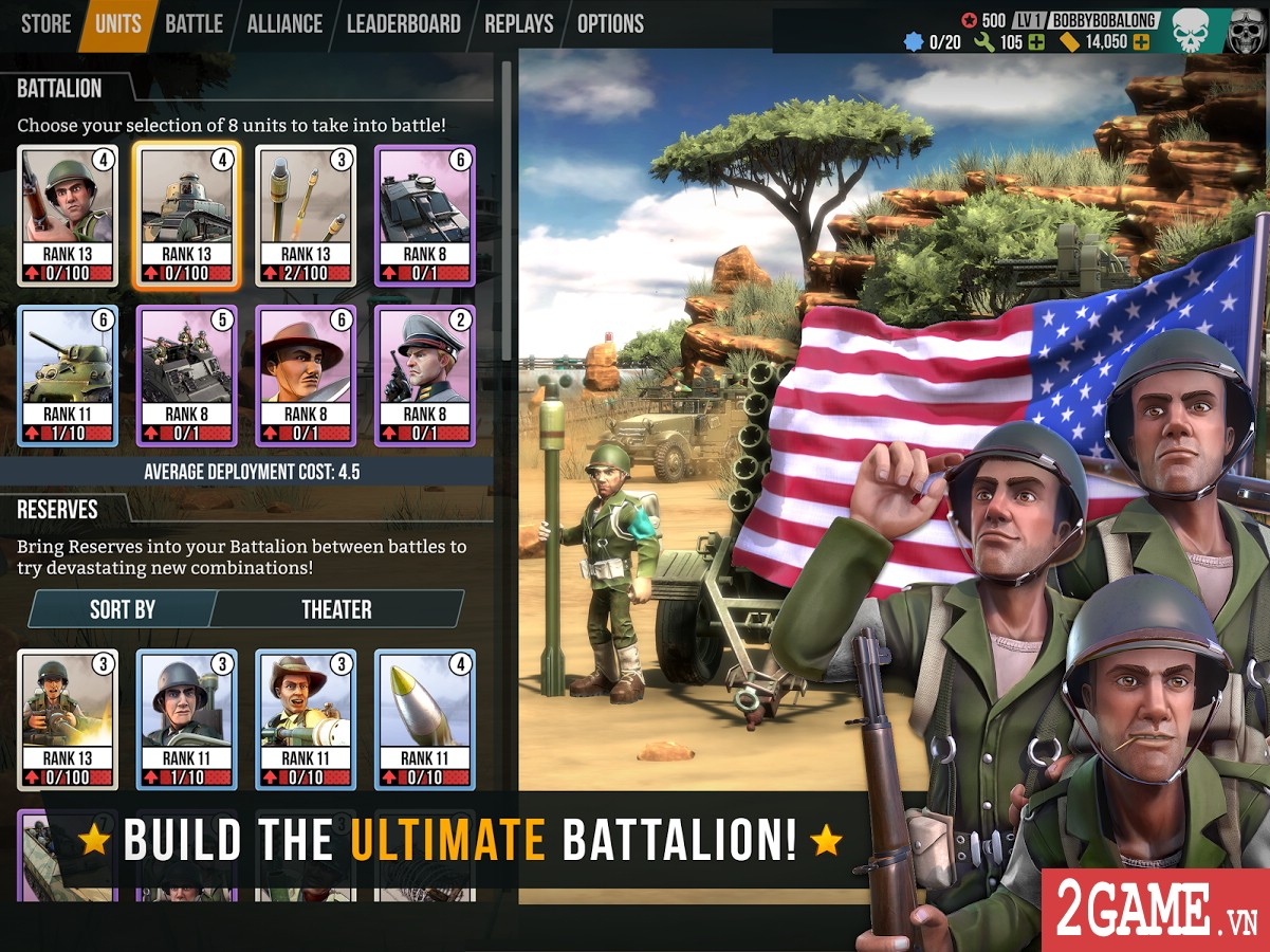 Battle Islands: Commanders - Game chiến thuật điều quân quá hay cho tín đồ mobile game 0