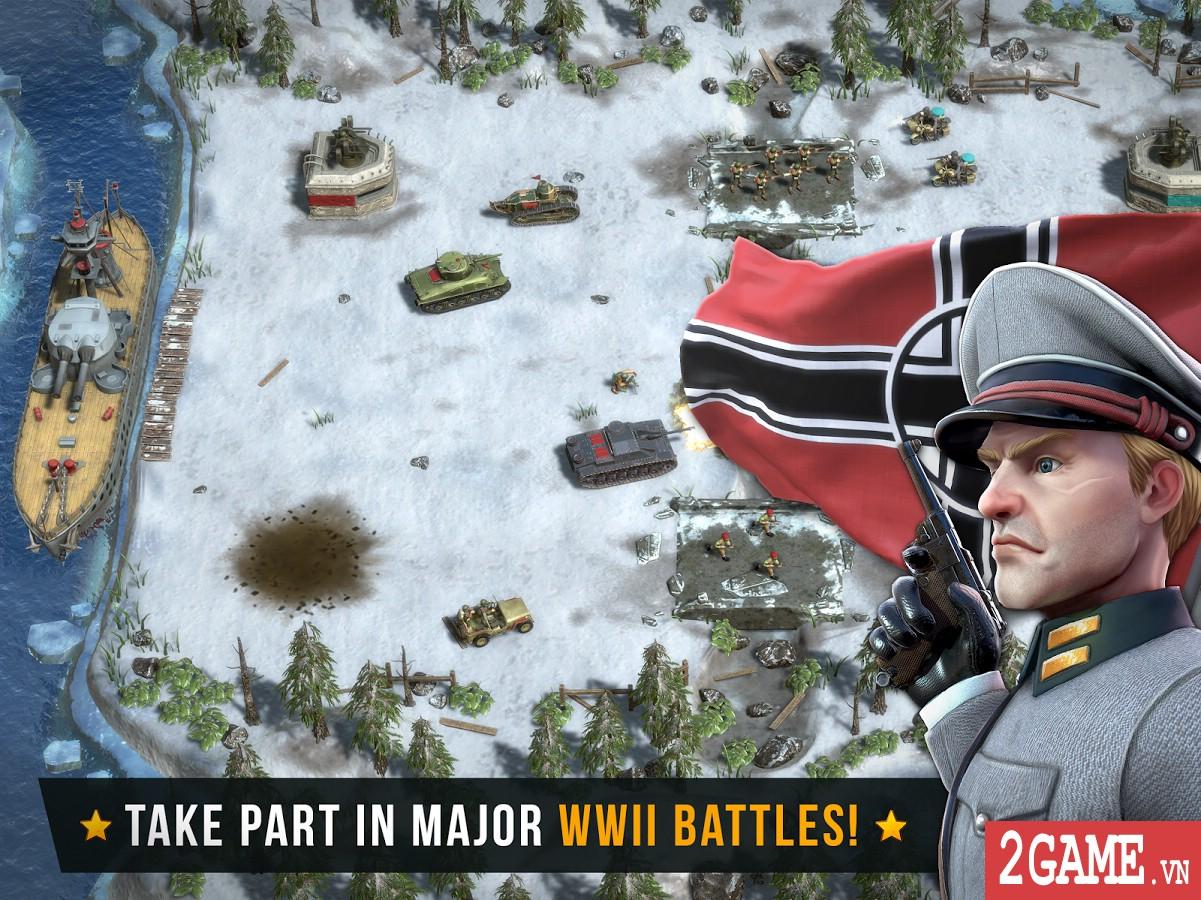 Battle Islands: Commanders - Game chiến thuật điều quân quá hay cho tín đồ mobile game 1