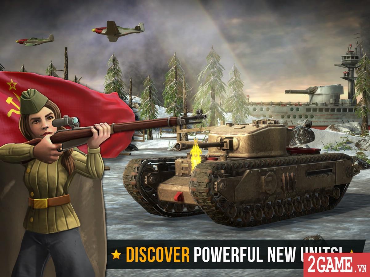Battle Islands: Commanders - Game chiến thuật điều quân quá hay cho tín đồ mobile game 6