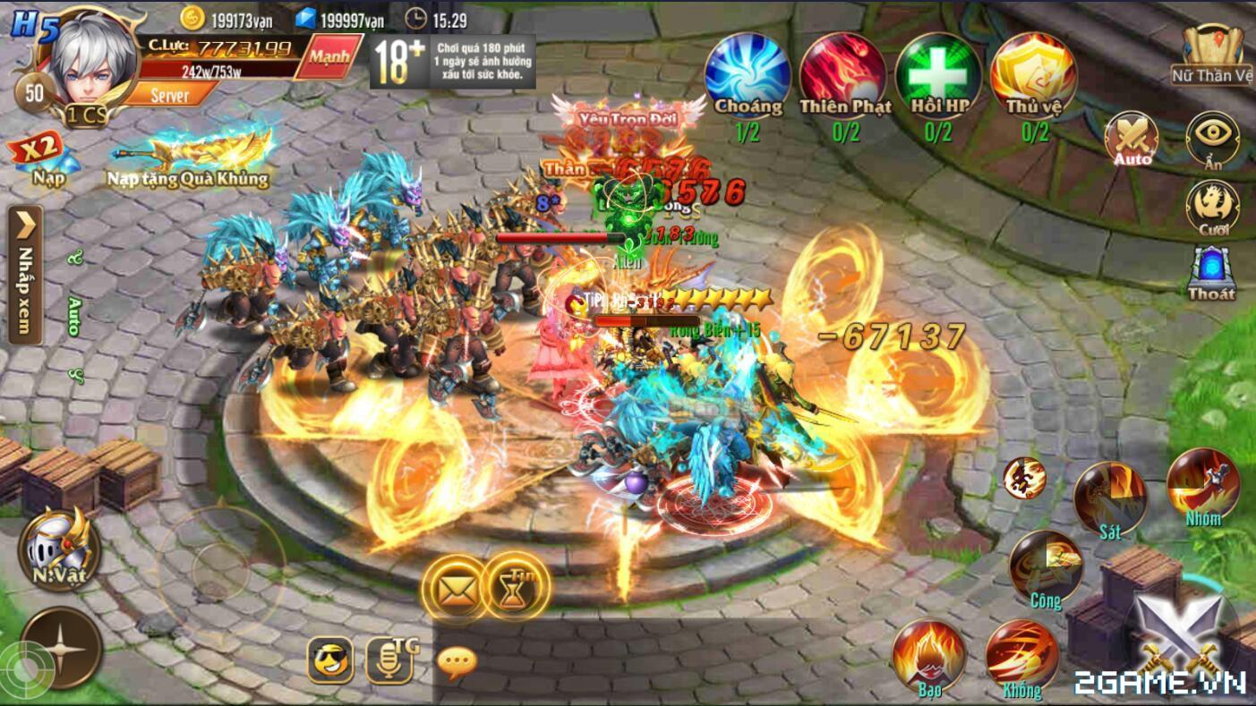 Kỵ Sĩ Rồng Mobile - Hoạt Động Nữ Thần Vệ 2