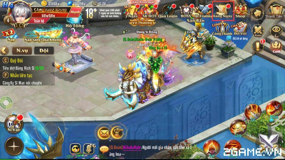 Kỵ Sĩ Rồng Mobile - Phụ Bản Vô Tận 0