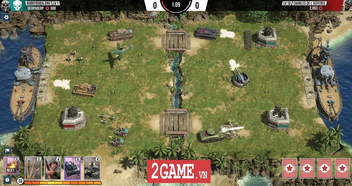 Battle Islands: Commanders - Game chiến thuật điều quân quá hay cho tín đồ mobile game 3