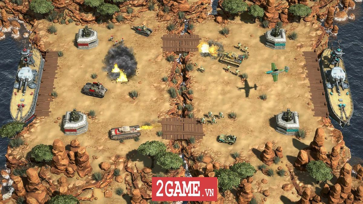 Battle Islands: Commanders - Game chiến thuật điều quân quá hay cho tín đồ mobile game 4