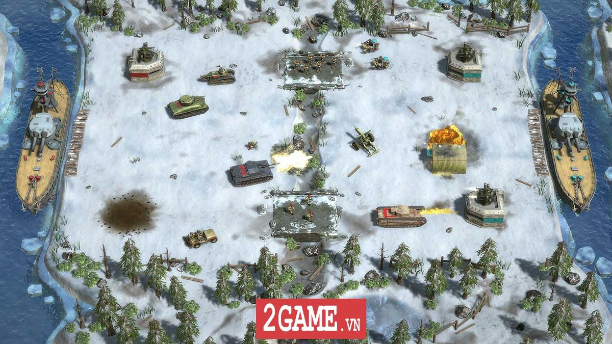 Battle Islands: Commanders - Game chiến thuật điều quân quá hay cho tín đồ mobile game 5