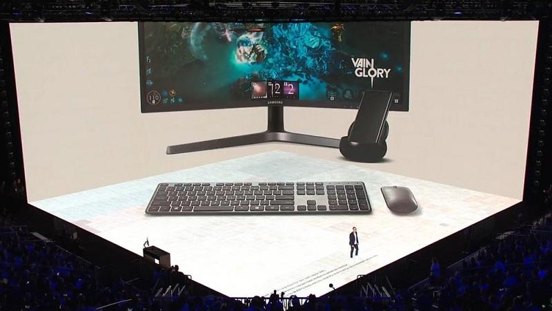 Game thủ có thể trải nghiệm Vainglory trên PC khi sử dụng thiết bị Samsung DeX 1