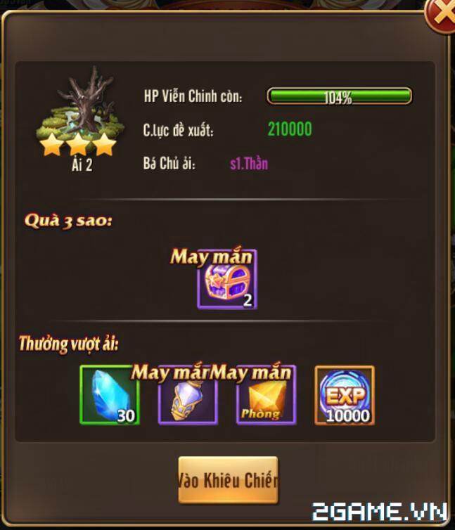 Kỵ Sĩ Rồng Mobile - Tính Năng Viễn Chinh 3
