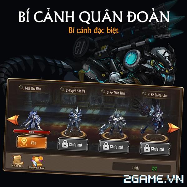 Kỵ Sĩ Rồng Mobile - Ưu đãi khi tham gia Quân Đoàn 2