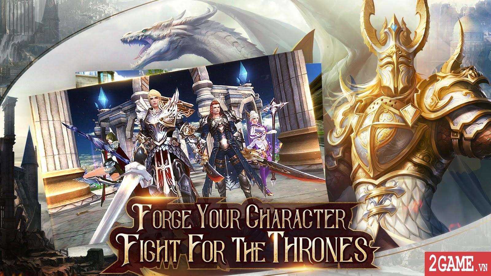Immortal Thrones – Game nhập vai 3D chuẩn mực trên di động 3