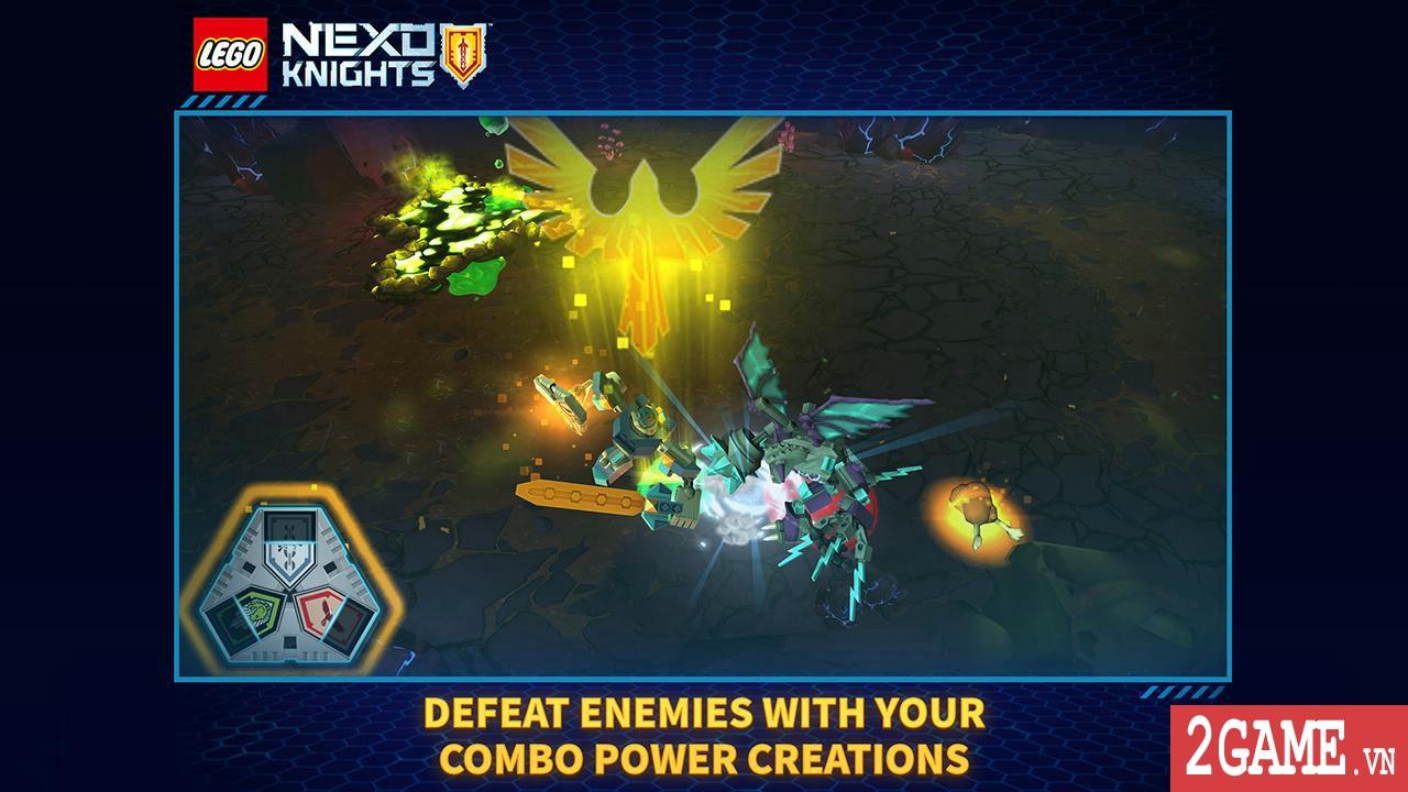 Nexo Knights: Merlok 2.0 – Trải nghiệm cảm giác game nhập vai với chất liệu đồ họa lego độc nhất 1