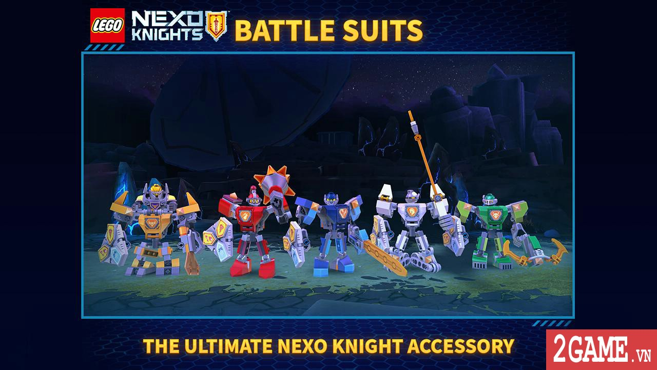 Nexo Knights: Merlok 2.0 – Trải nghiệm cảm giác game nhập vai với chất liệu đồ họa lego độc nhất 2