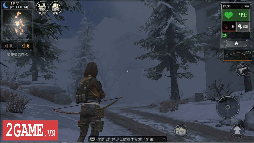 Code: Survive – Game mobile sinh tồn cực chất cả về đồ họa lẫn lối chơi 0