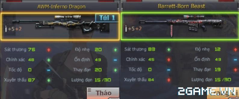 Crossfire Legends - Barrett-Born Beast & AWM-Inferno Dragon: Kỳ phùng địch thủ 1