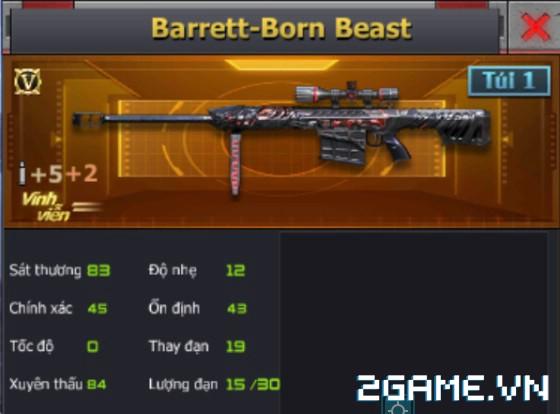 Crossfire Legends - Barrett-Born Beast & AWM-Inferno Dragon: Kỳ phùng địch thủ 2
