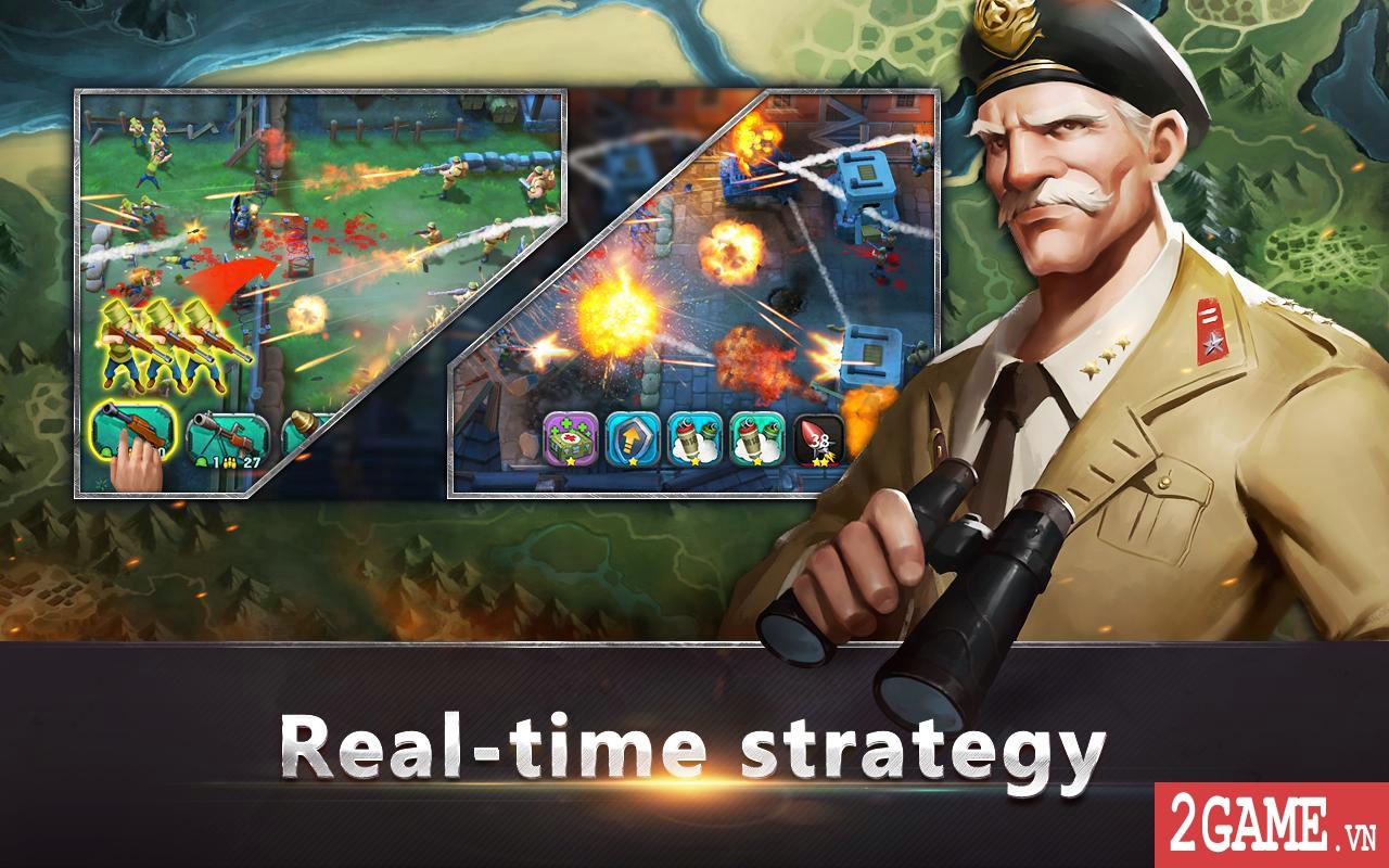 War in Pocket – Game chiến thuật cho phép bạn thả quân, điều lính đầy chất chơi 1