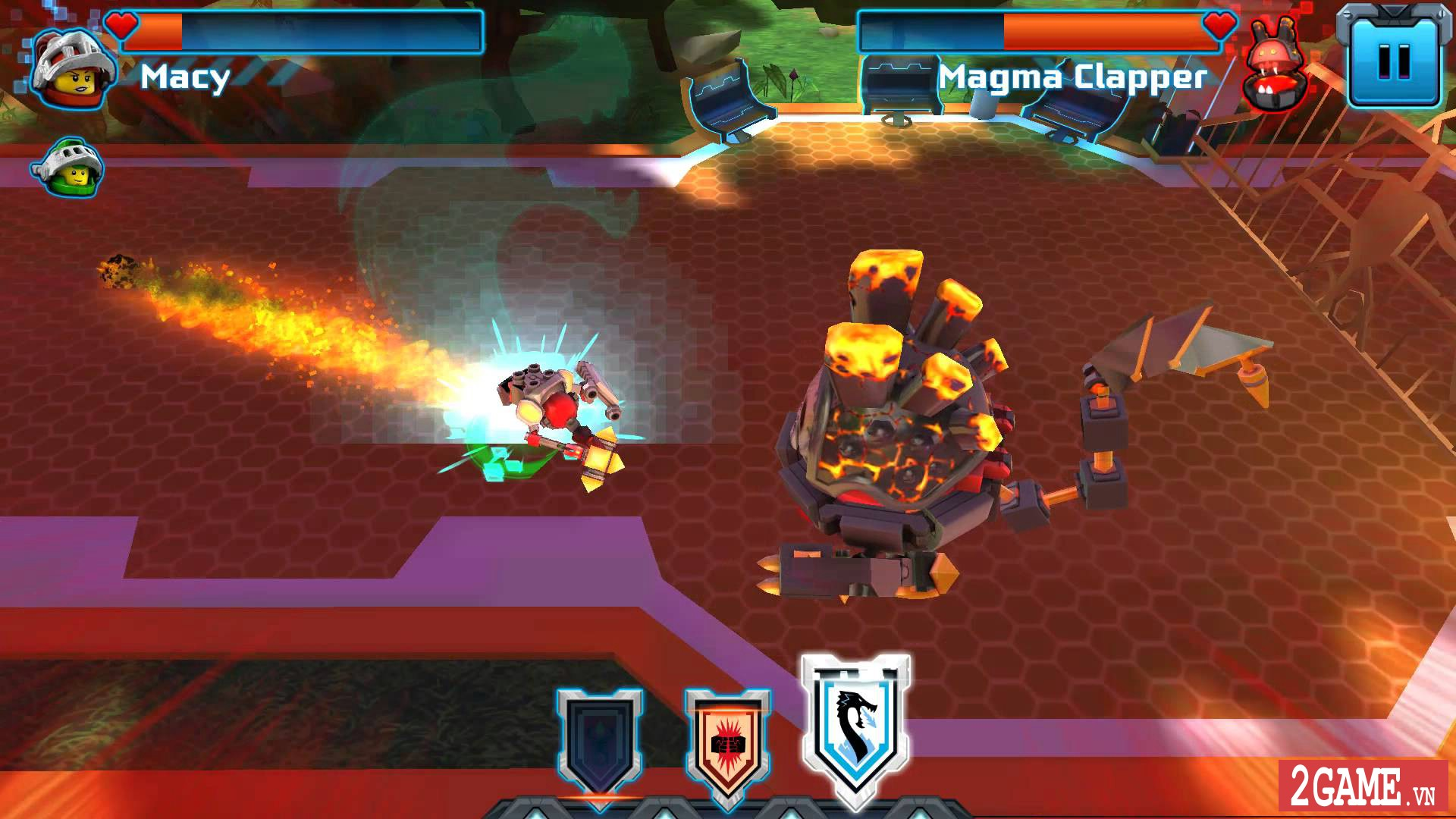 Nexo Knights: Merlok 2.0 – Trải nghiệm cảm giác game nhập vai với chất liệu đồ họa lego độc nhất 5