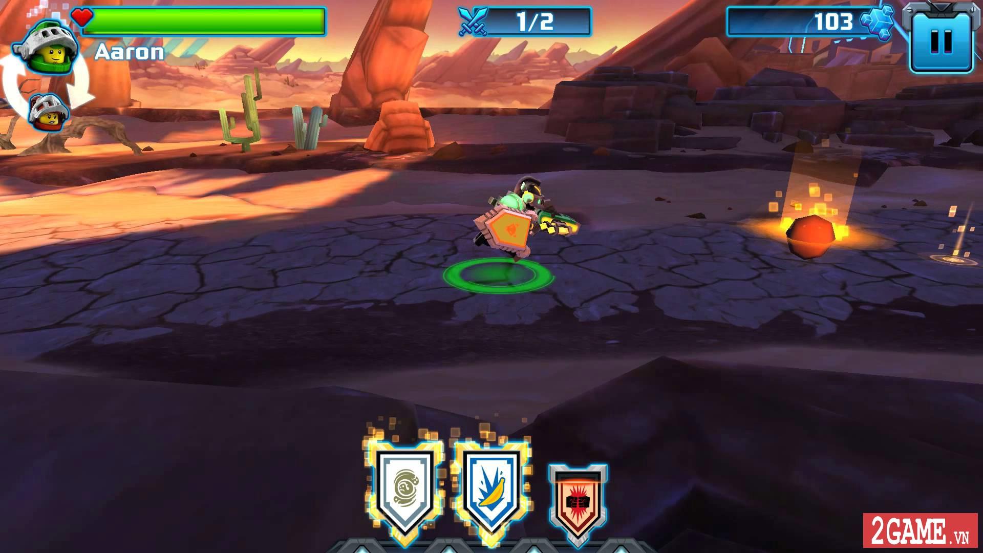 Nexo Knights: Merlok 2.0 – Trải nghiệm cảm giác game nhập vai với chất liệu đồ họa lego độc nhất 6