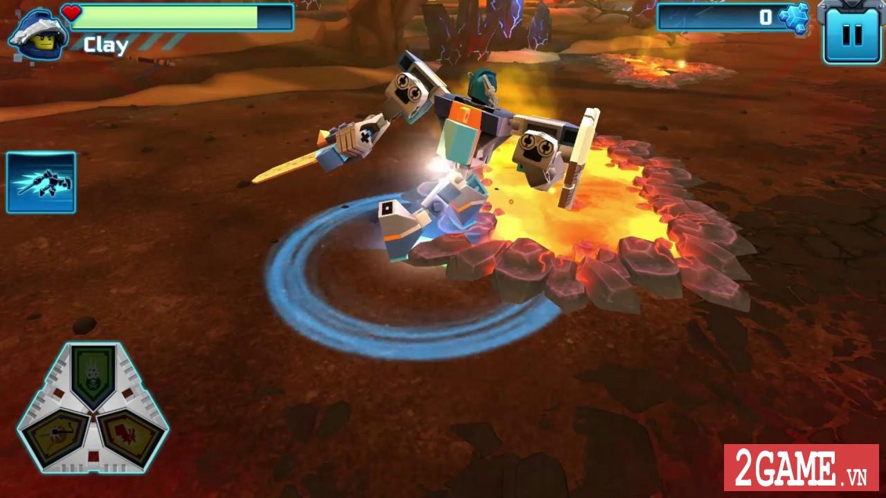 Nexo Knights: Merlok 2.0 – Trải nghiệm cảm giác game nhập vai với chất liệu đồ họa lego độc nhất 8